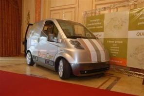 QUICC!, utilitaire électrique, dévoilé au Mondial de Paris 2008