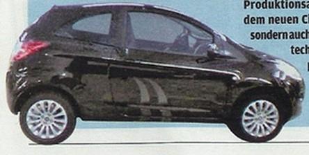 La Ford Ka mild hybrid présentée au Mondial de Paris 2008