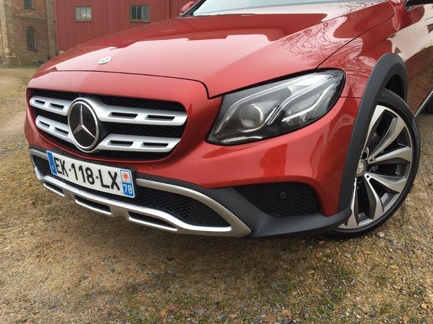 Mercedes Classe E All-Terrain - Les premières images de l'essai en live + Premières impressions de conduite