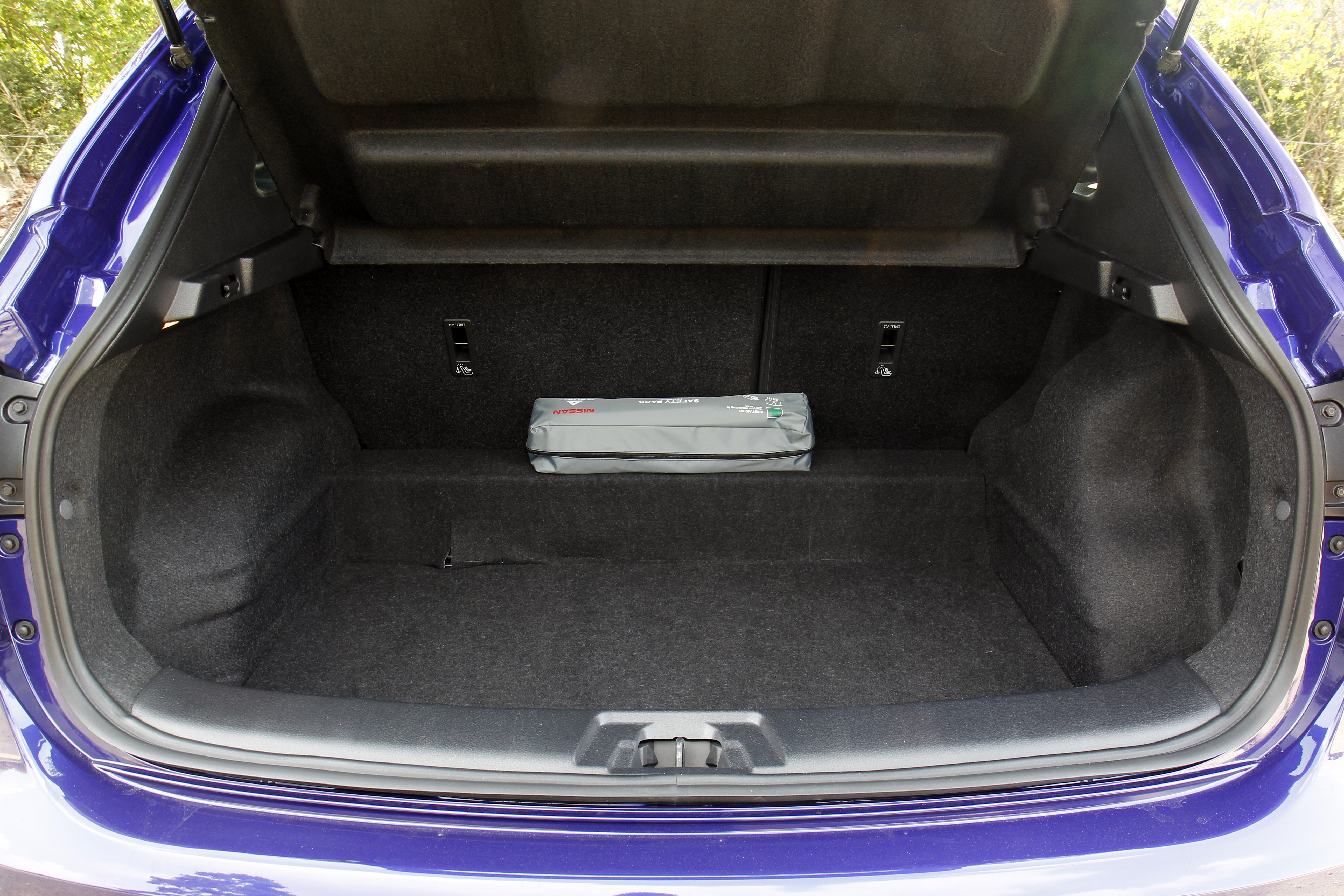 A l\'intérieur du Nissan Qashqai 1.5 dCi 110 ch