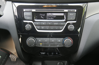 A l'intérieur du Nissan Qashqai 1.5 dCi 110 ch