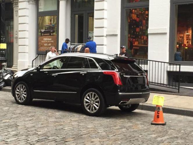 Surprise : le futur Cadillac XT5 totalement nu
