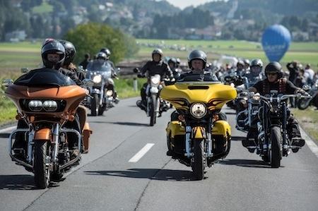 Harley-Davidson European Bike Week en Autriche 2015: 125 000 visiteurs et quelques 85 000 motos