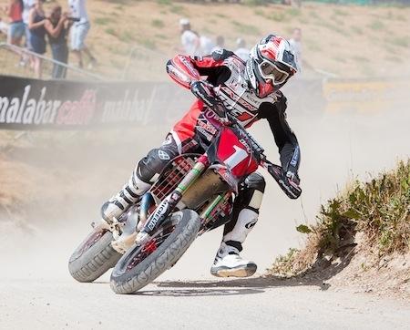 """Supermotard, championnat de France 2012, Sylvain Bidart (interview): """"... je ne suis pas certain de participer à la finale à la Réunion..."""""""