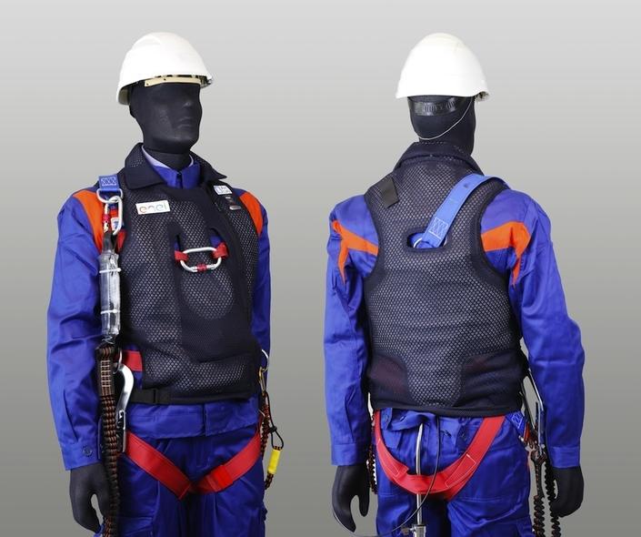 Airbag: Dainese s'intéresse aux ouvriers du bâtiment