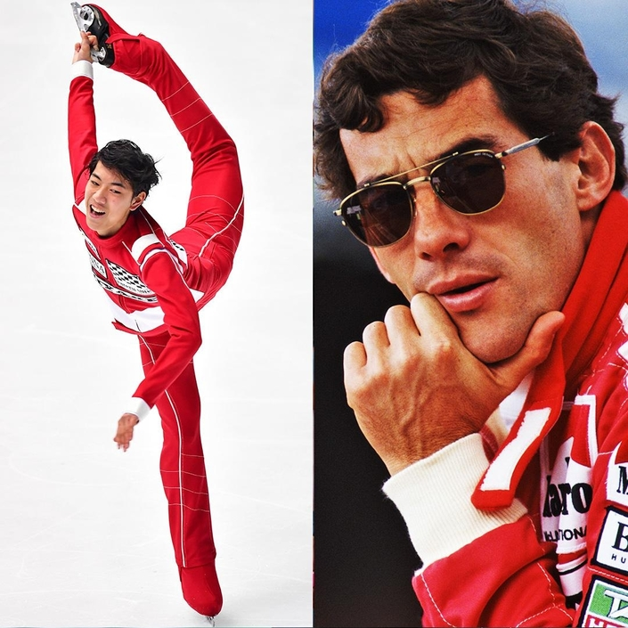 Vidéo: quand Ayrton Senna et le patinage artistique se rencontrent…