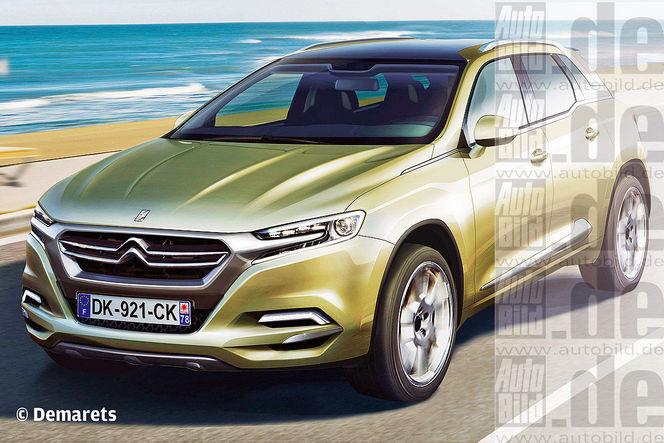 Surprise : le futur SUV Citroën DSX se montre