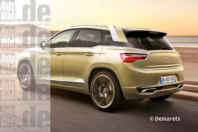 Surprise : le futur SUV Citroën DSX se montre