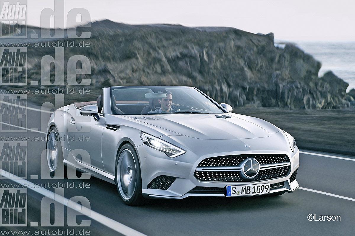 Futurs Mercedes Sl Et Slk Comme 231 A