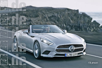 Futurs Mercedes SL et SLK : comme ça ?