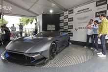 Goodwood : Aston Martin fait rouler la Vulcan