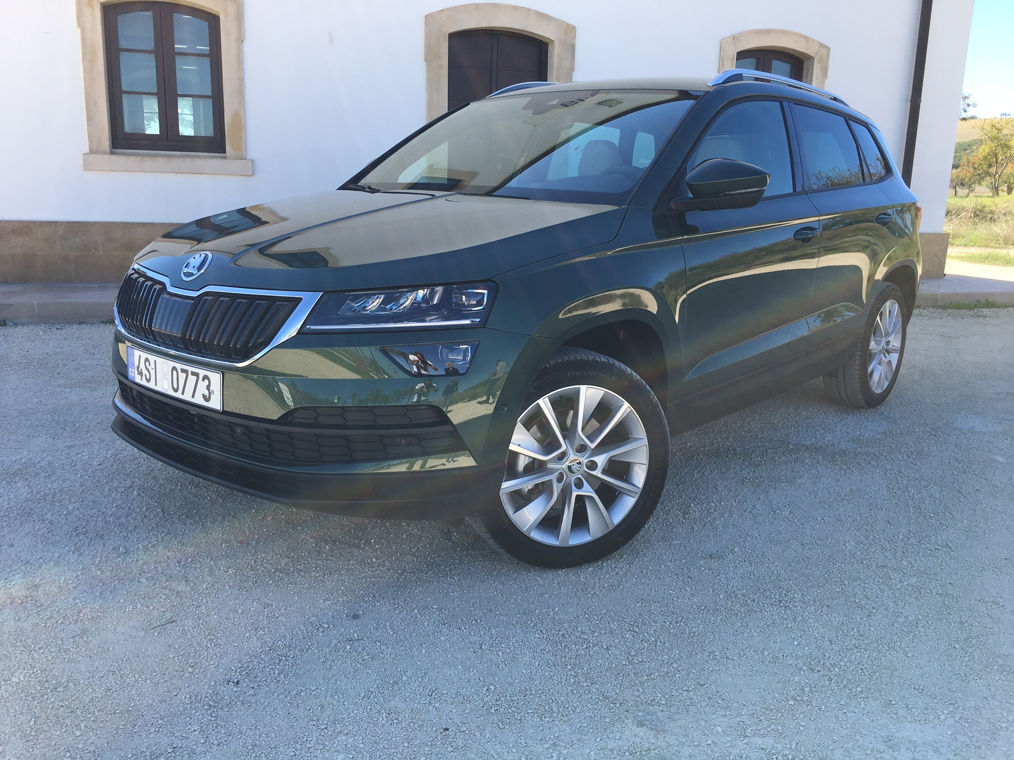skoda karoq 2018 les premi res images de l 39 essai en live premi res impressions. Black Bedroom Furniture Sets. Home Design Ideas