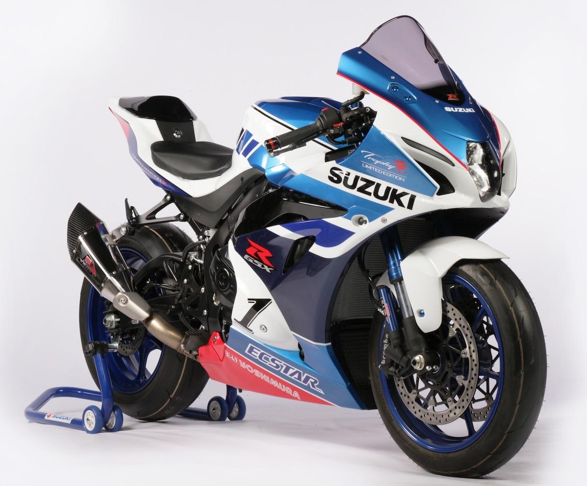 Suzuki : série limitée Trophy des GSX-R1000 et GSX-R1000R
