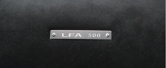 La dernière Lexus LFA est sortie de chaîne
