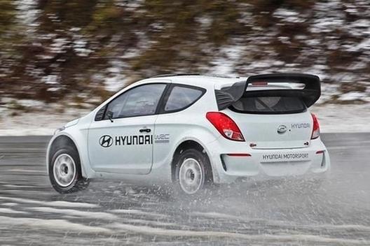 WRC - Hyundai en essais en Allemagne (vidéo)