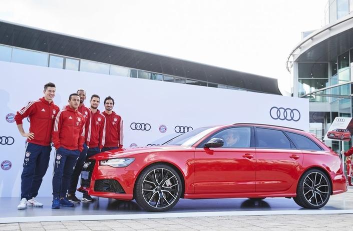 Les joueurs du Bayern Munich ont reçu de nouvelles Audi