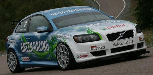 Salon de Genève 2008 : Volvo C30 Green Racing