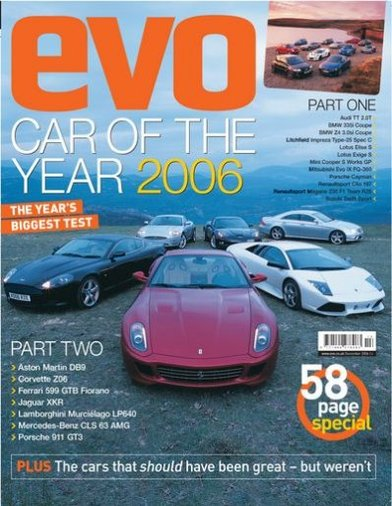 EVO Car of the Year 2006