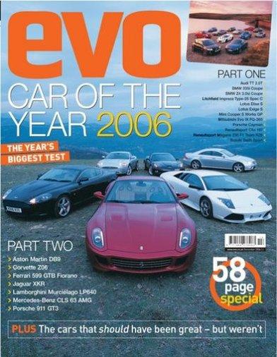 EVO Car of the Year 2006