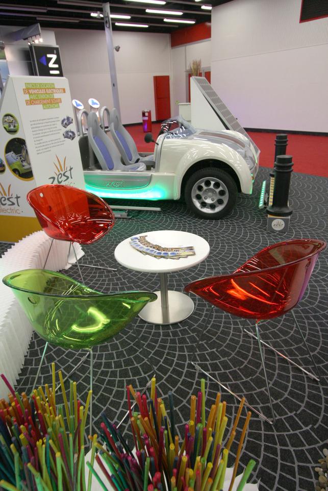 Salon de Genève 2008 : Acrea Zest électrique