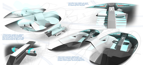 Christopher Lavelanet : son Concept électrique Peugeot Versa-quatic