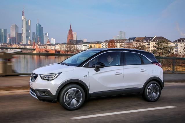 Opel Crossland X: à partir de 18300€