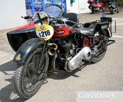Motos des origines à 1930.