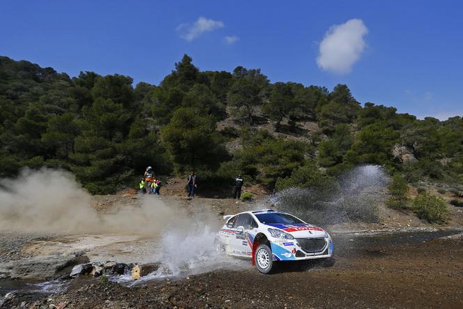 Peugeot 208 T16: une 1ère victoire en Grèce