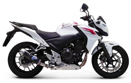 Termignoni: des pots pour les Honda CB 500F et CBR 500R