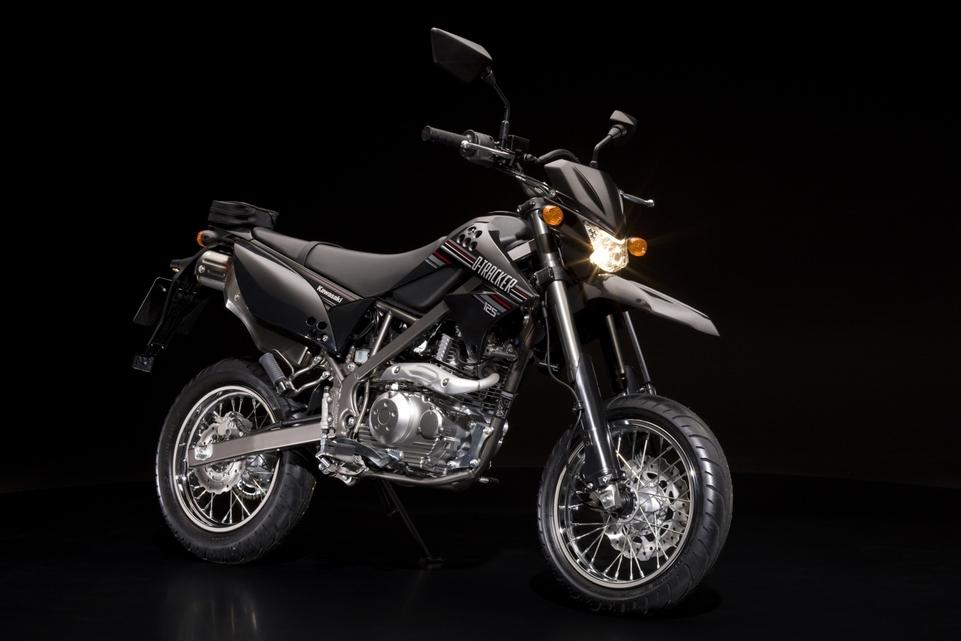 Nouveautés 2010 : Kawasaki D-Tracker 125 cm3 et KLX 125 cm3