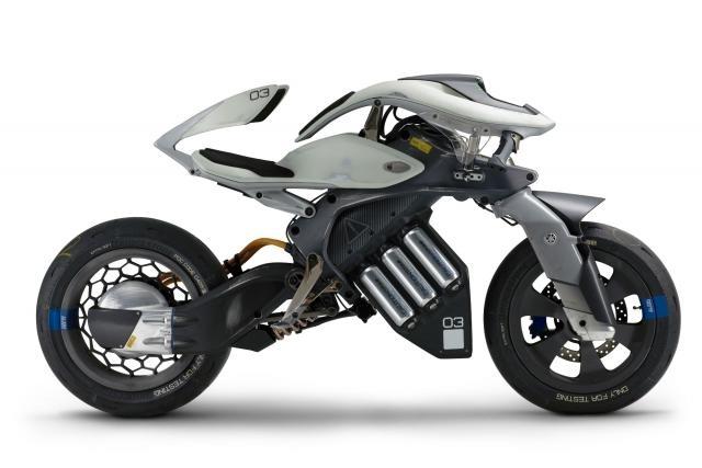 Nouveauté - Yamaha: après Motobot voici Motoroïd