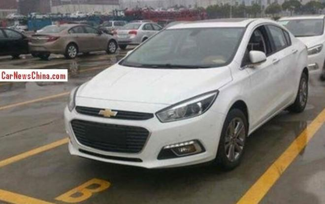 Surprise : voici la future Chevrolet Cruze