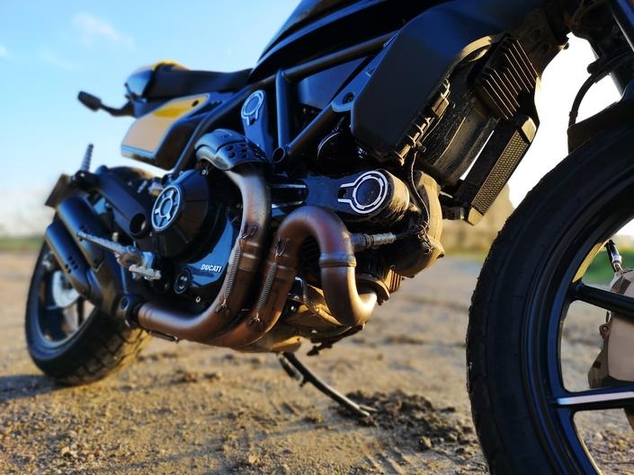 Essai Ducati Scrambler 800 mod. 2019