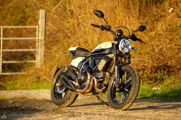 Essai Ducati Scrambler 800 Full Throttle 2019