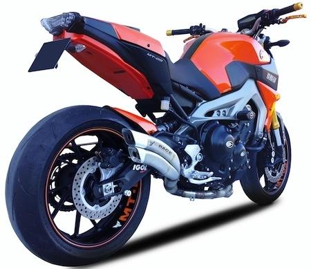 Ixrace: ligne pour Yamaha MT-09