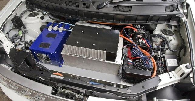 Salon de New York 2008/Nissan : le Concept électrique Denki Cube