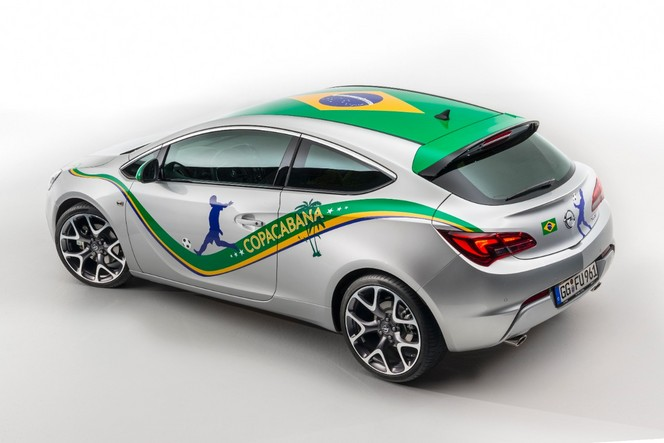 Scoop : l'Opel Astra Copacabana en avance
