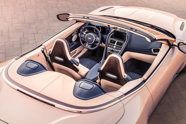 Aston Martin dévoile la DB11 Volante