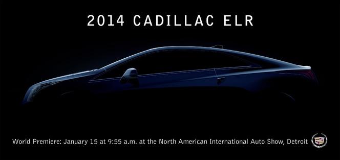 Detroit 2013 : la Cadillac ELR y sera