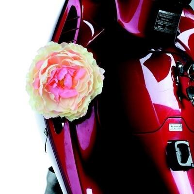 Tucano Urbano... le pouvoir des fleurs sur votre scooter...
