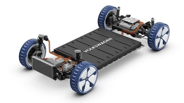 La plate-forme MEB du groupe Volkswagen, disponible à partir de 2020, permettra une autonomie électrique de 500 km.