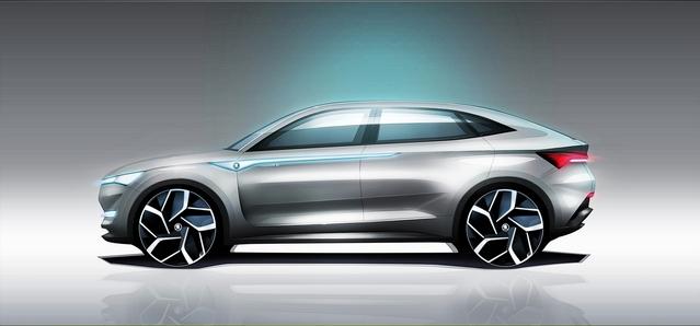 La Skoda Vision E doit être considérée comme un manifeste stylistique et technologique pour Skoda. Au programme, un design plus exubérant qu'a l'accoutumée et une motorisation électrique de pointe.