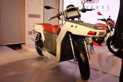 Scooter - Hero: et voici le RNT diesel deux roues motrices !