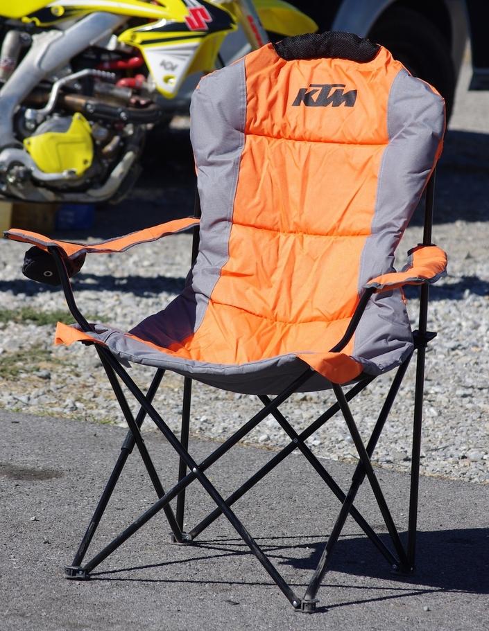 KTM&Husqvarna Paddock Chair: l'essai