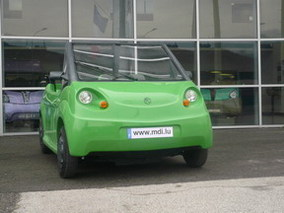 Salon de New York 2008 : la voiture à air comprimé OneCAT de MDI en première mondiale