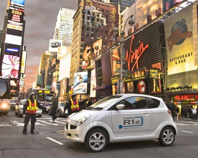 Subaru R1e électrique : des tests au Japon actuellement et à New York l'été 2008 !