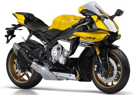 """Yamaha YZF-R1 2016: une version anniversaire aux coloris """"Speedblock"""" disponible dès décembre"""