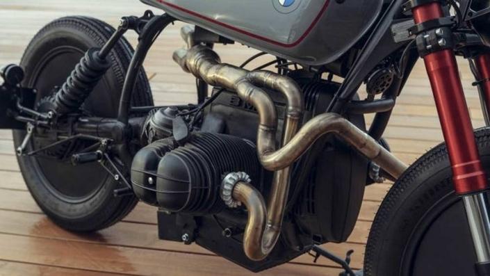 Custom - BMW: Adonis ou la fontaine de jouvence de la R 80 RT