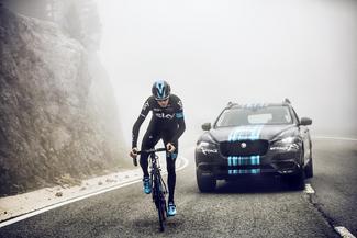 Jaguar : le SUV F-Pace fera sa première sortie au Tour de France ce week-end