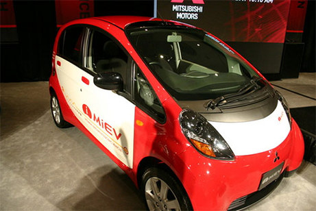 Salon de New York 2008 : Mitsubishi i MiEV électrique